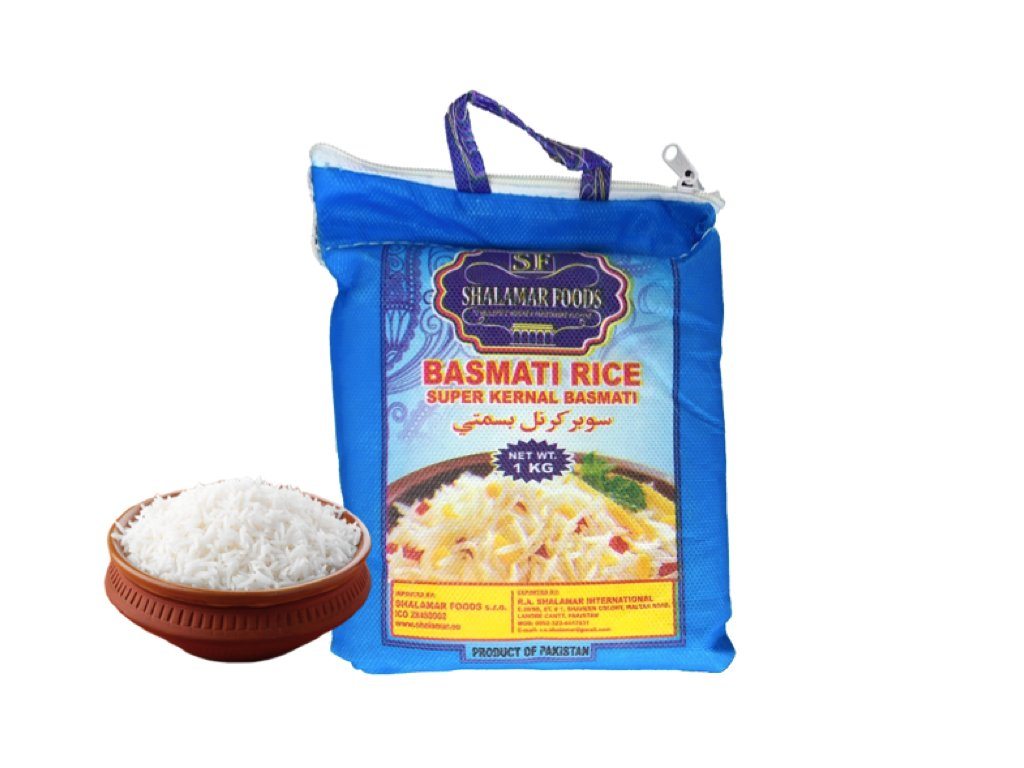 rýže basmati a