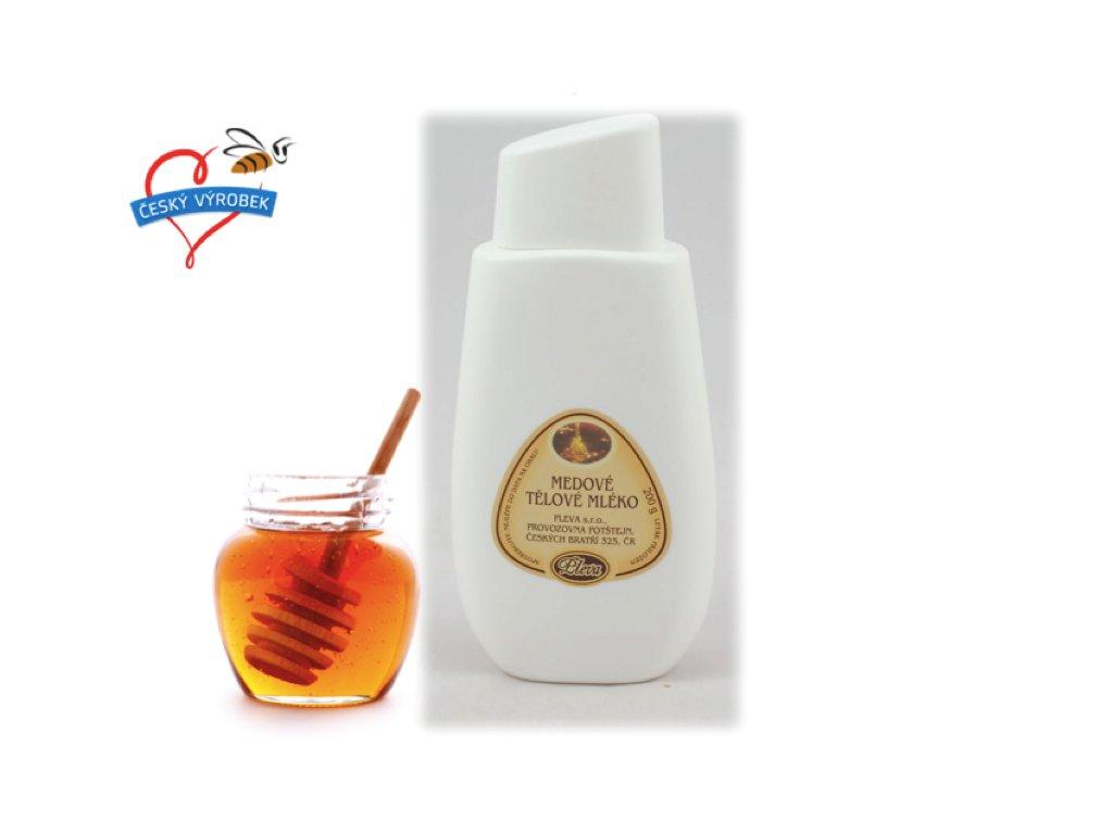 medové mléko a