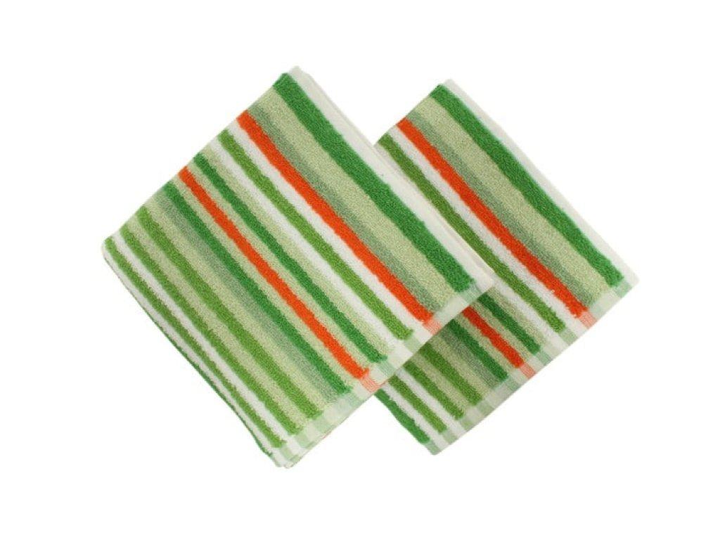 ručník line zelený a
