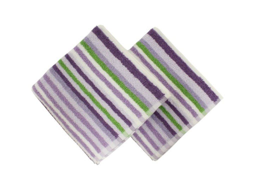 ručník line fialový a