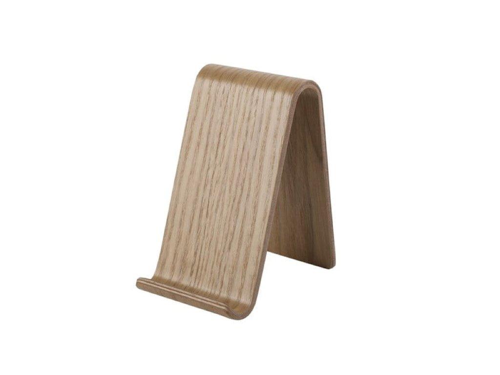 stojan na mobil dřevěný a