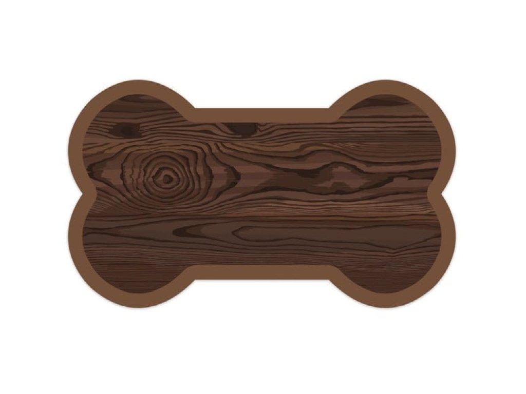 podložka pro psy dřevo a