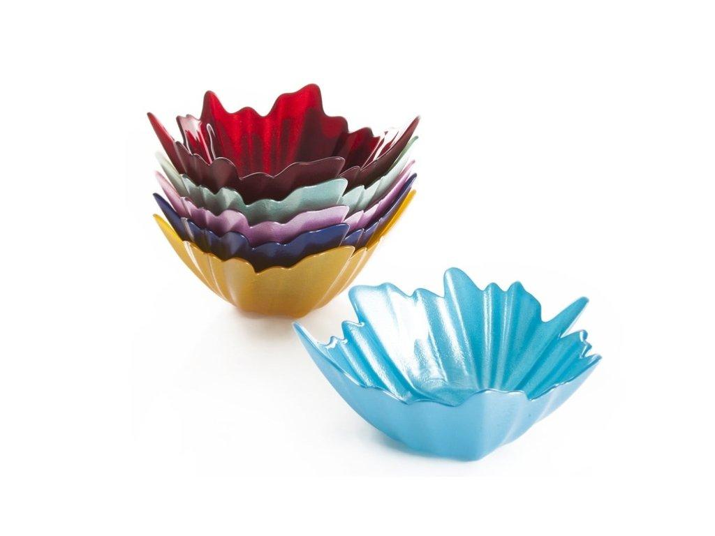 misky list barevné a