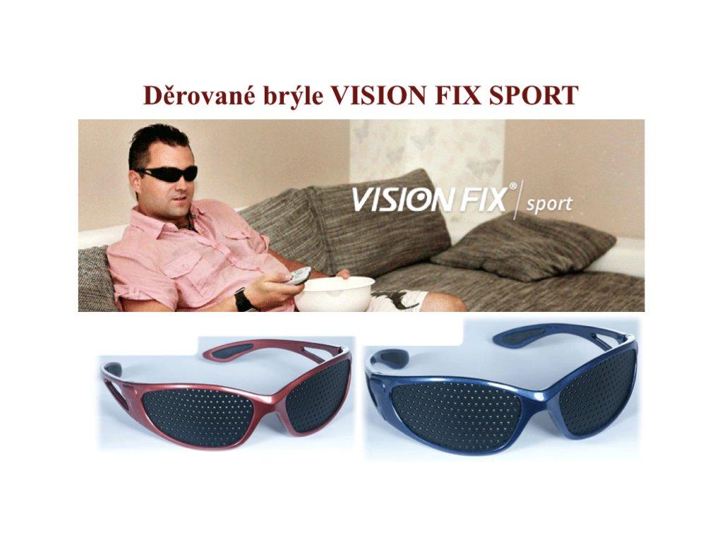 Děrované brýle bez dioptrií SPORT