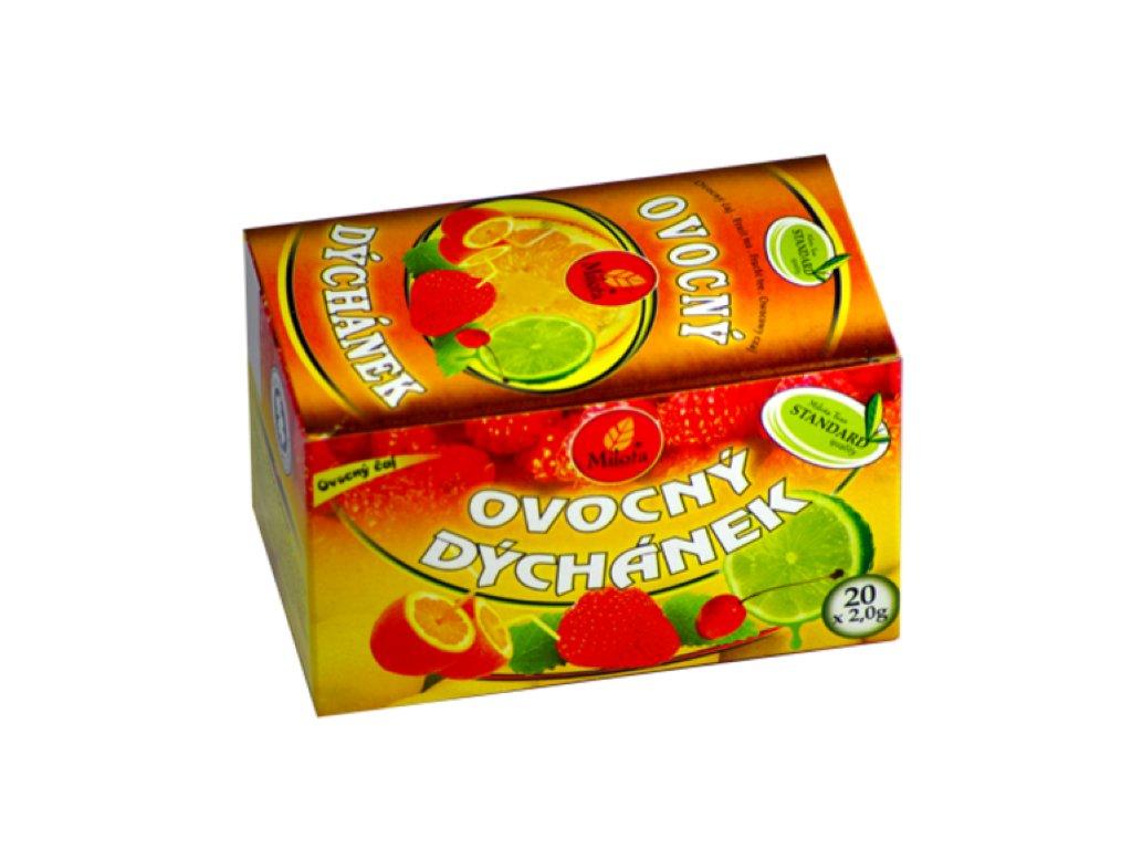 ovocný dýchánek a