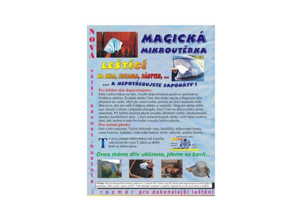 mikroutěrka magická