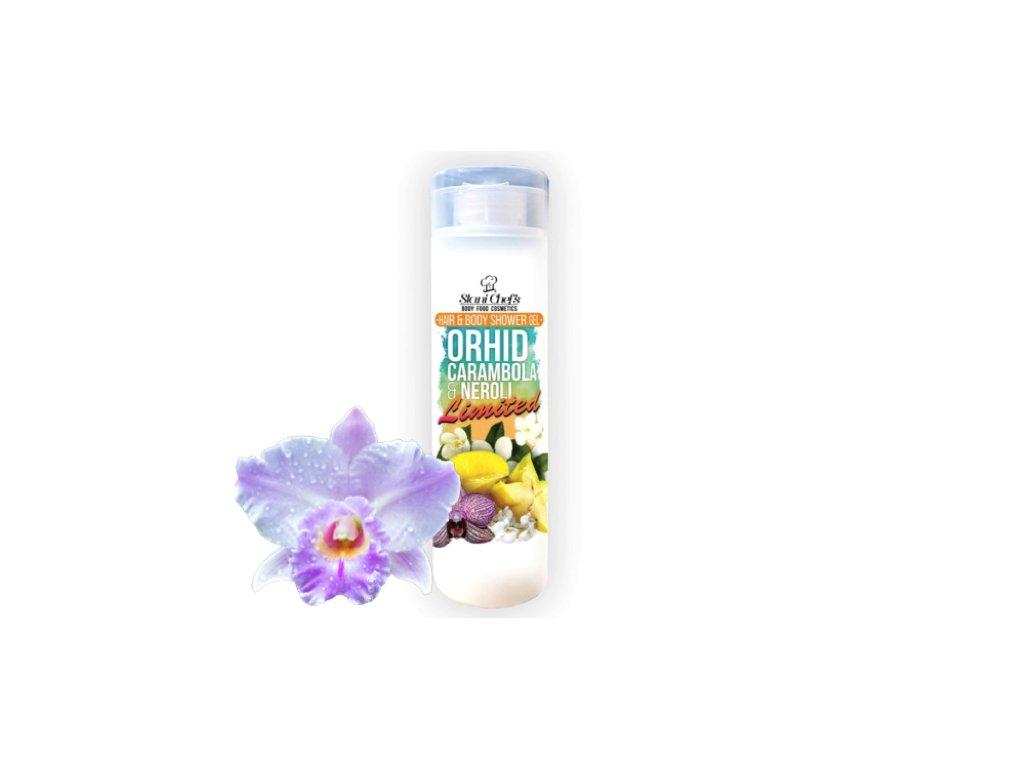 sprchový gel orchidej