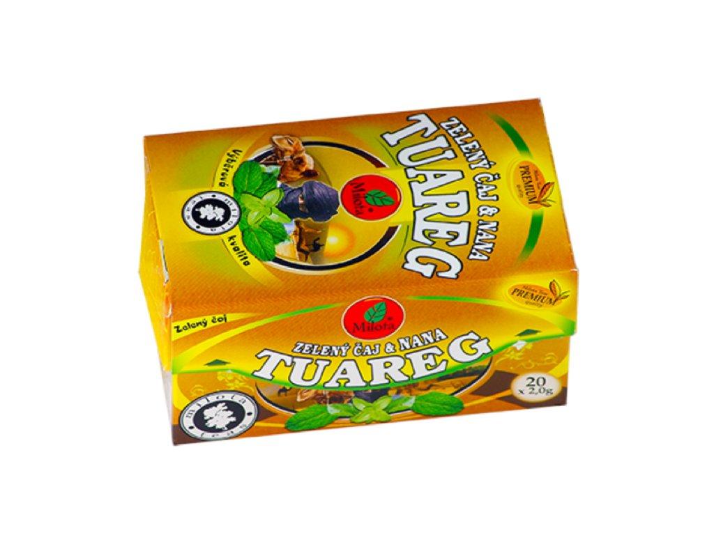 zelený čaj tuareg a