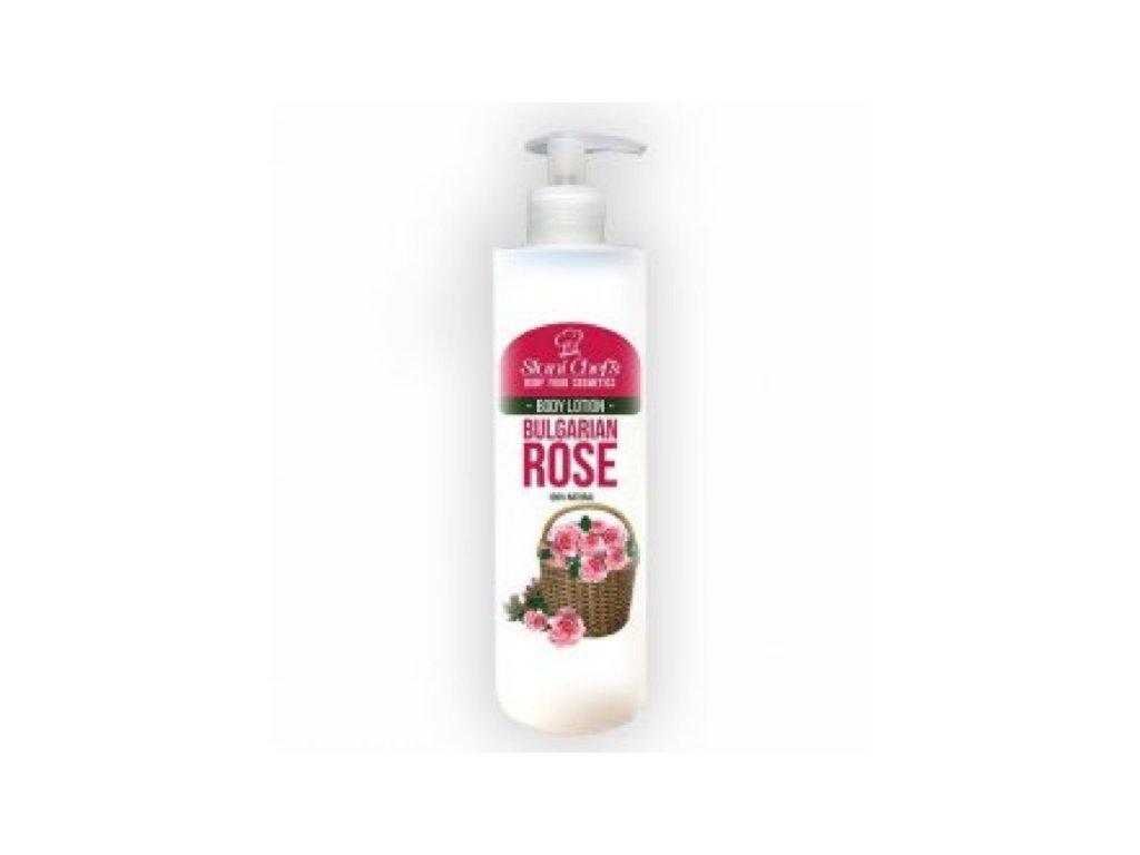 tělové mléko b růže