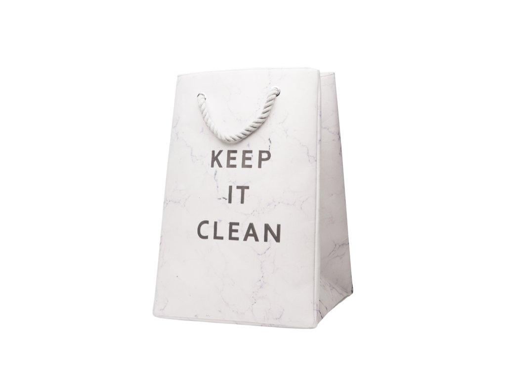 koš na prádlo clean a