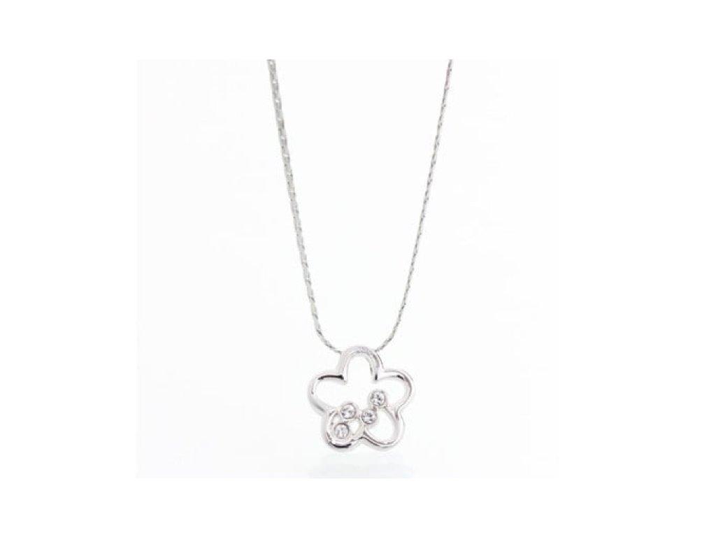 náhrdelník květina a