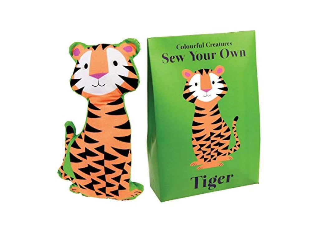 hračka na ušití tigr a