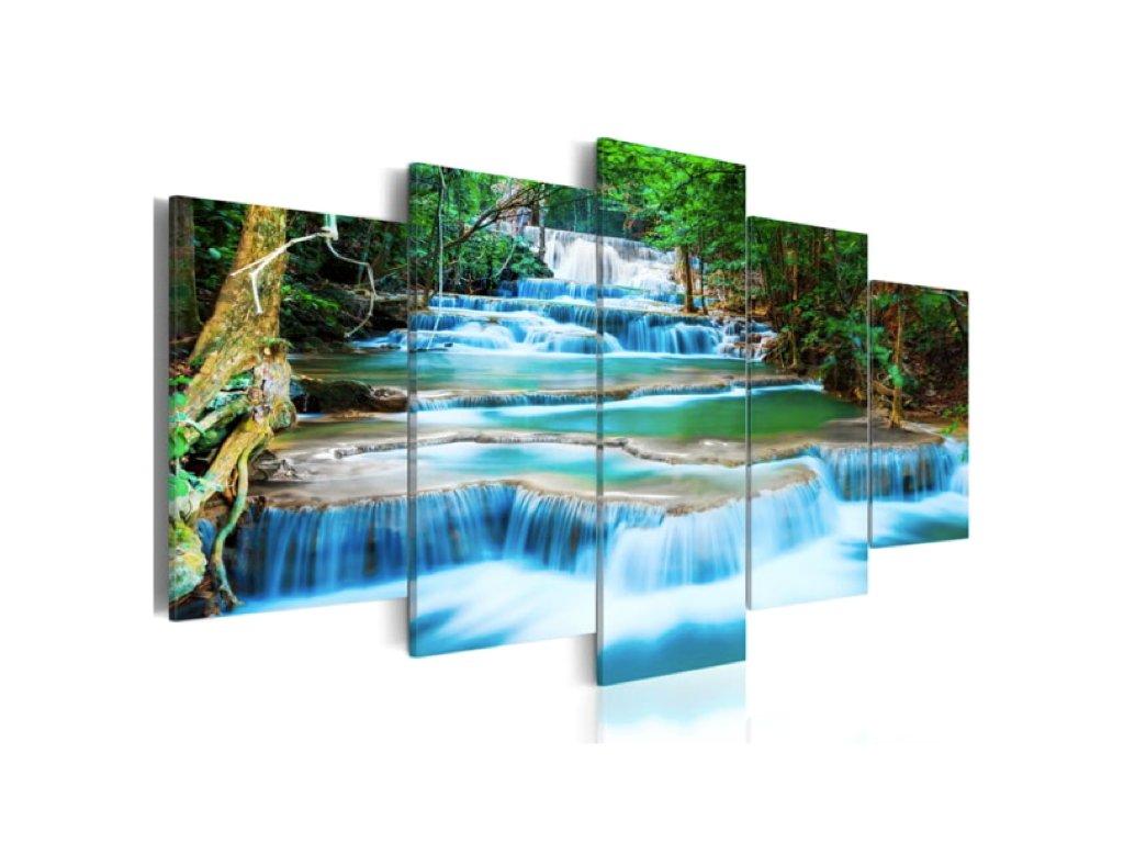 obraz 5D horská řeka a