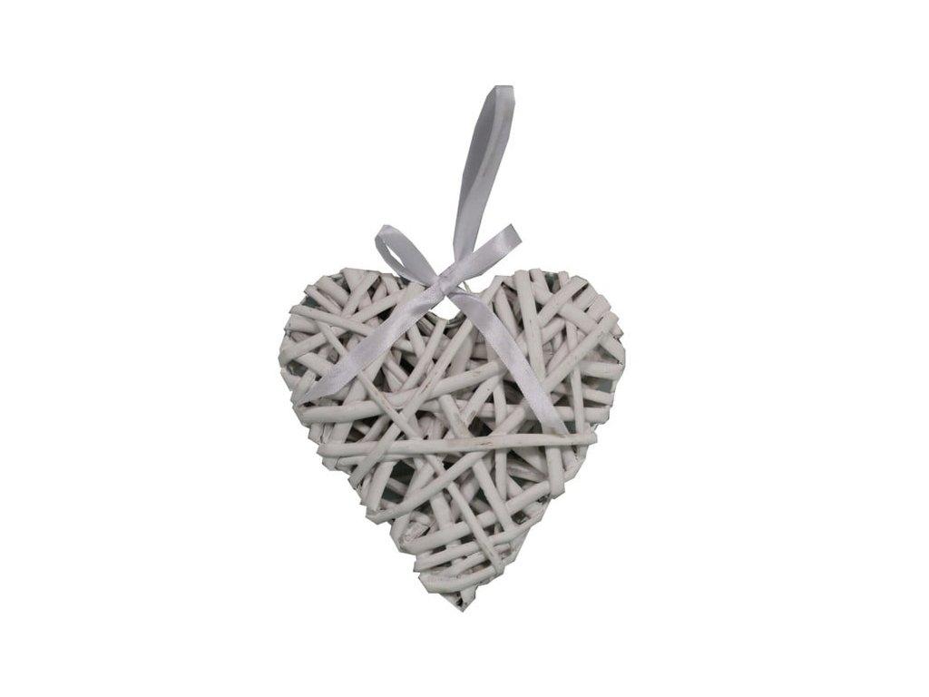 srdce proutí 25 cm