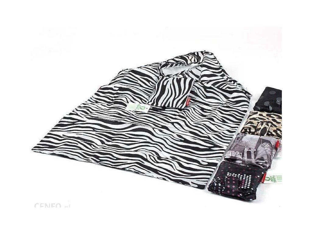 skládací taška zebra
