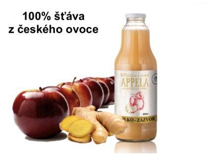 apela jablko zázvor litr a