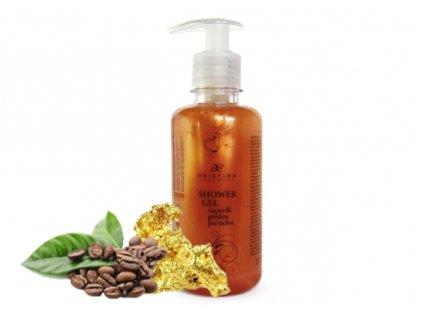 sprchový gel kakao zlato