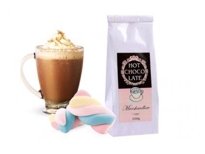 horká čokoláda marshmallow a