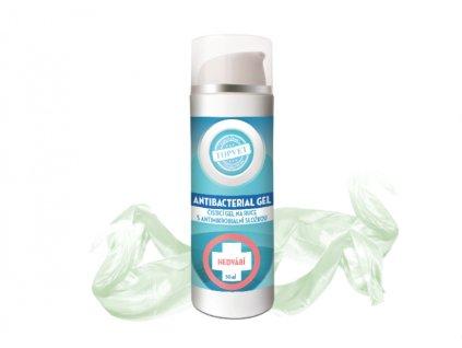 antibaktreiální gel hedvábí