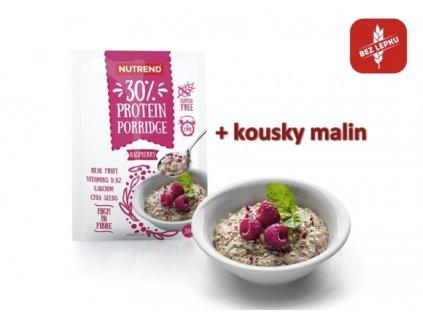 kaše protein malina