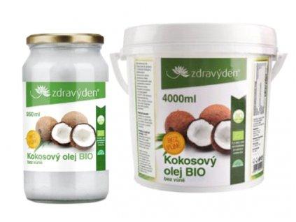kokos olej bez vůně 1