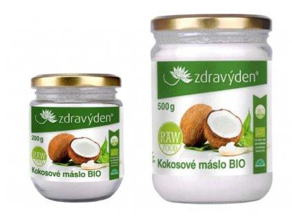 BIO Kokosové máslo Zdravý den®
