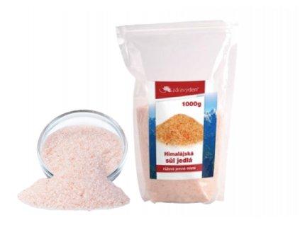 sůl jemná a