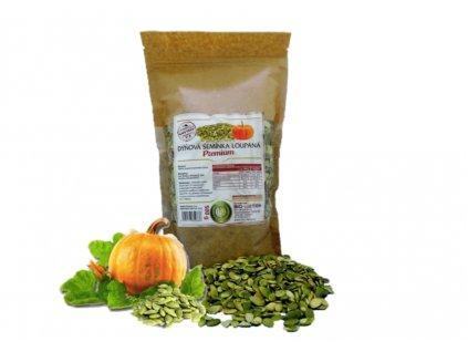 dýňová semínka a