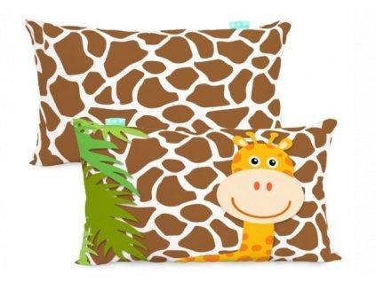 polštář 30x50 žirafa a