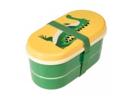 krokodýl svačinový box a