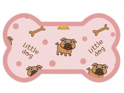 podložka pro psy růžová a
