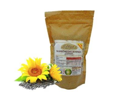 slunečnicová semínka a