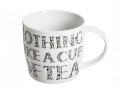 hrnek cup of tea bílý