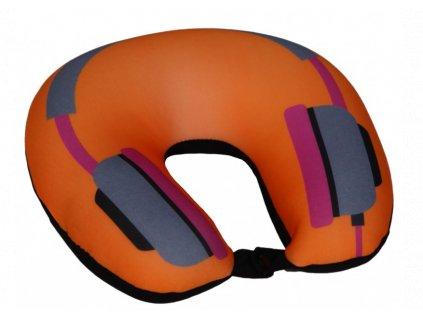 cestovní polštář sluchátka a