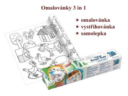 omalovánky 3in1 HK a