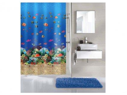 sprchový závěs moře a