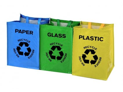 tašky na tříděný odpad a