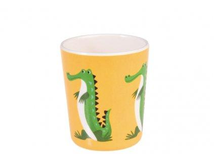 krokodýl pohárek a