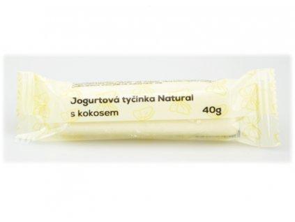 jogurtová tyčinka kokos a