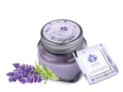 svíčka floral lavander