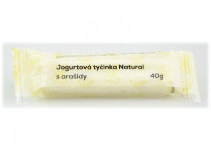 jogurtová tyčinka arašídy a