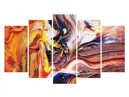 obraz 5D barevná fantazie a
