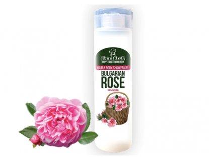 sprchový gel růže