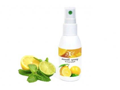 osvěžovač dechu citron
