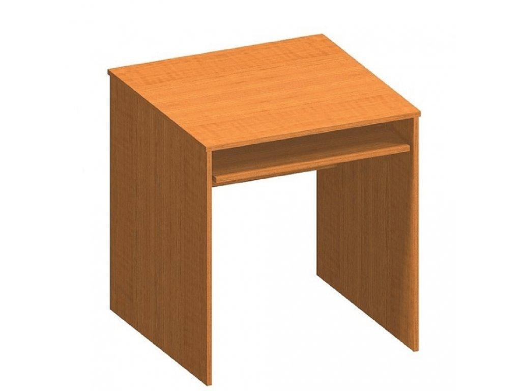 Písací stôl s výsuvom, čerešňa, TEMPO ASISTENT NEW 023