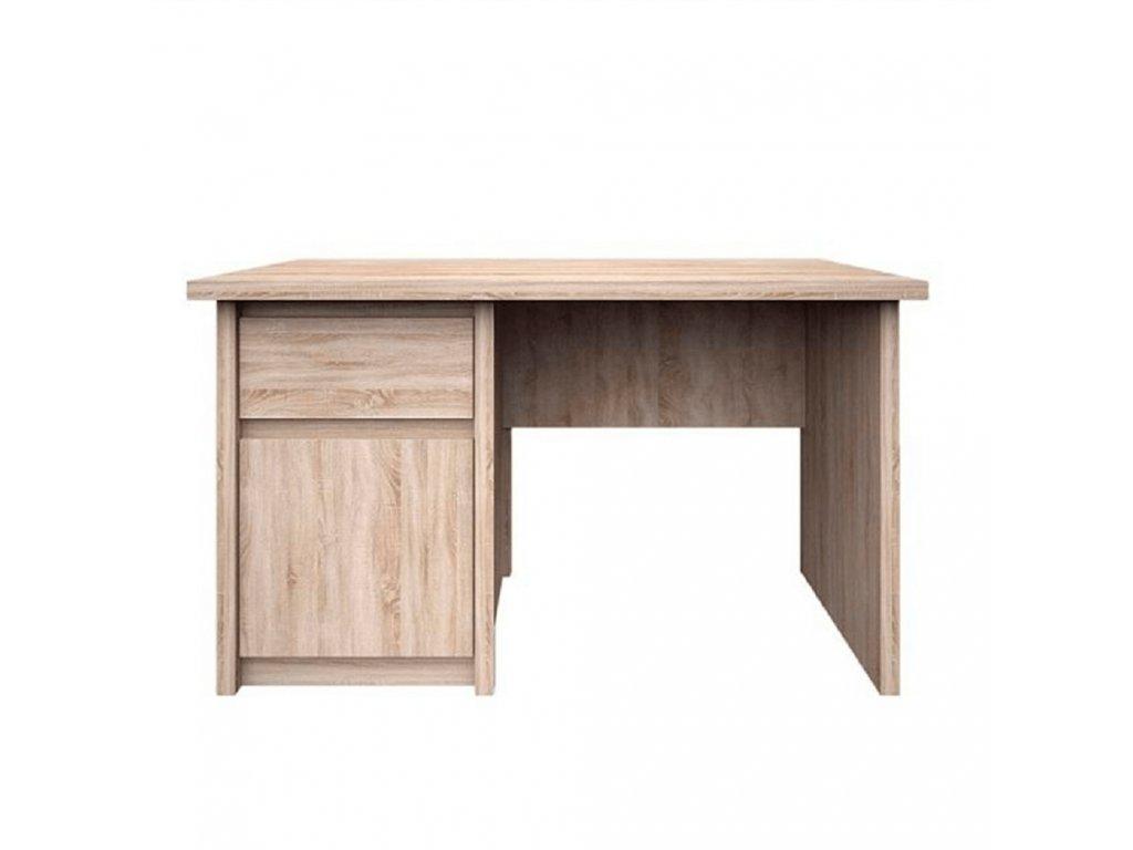 PC stôl 1D1S/120, dub sonoma, NORTY TYP 12