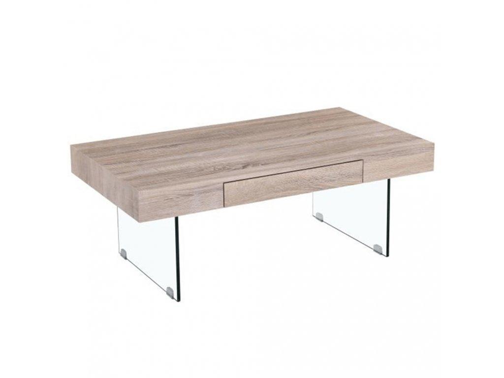 Konferenčný stolík, dub sonoma, DAISY NEW