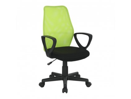 Kancelárska stolička, zelená/čierna, BST NEW 2010