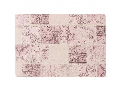 Koberec, ružový, 120x180, ADRIEL TYP 3