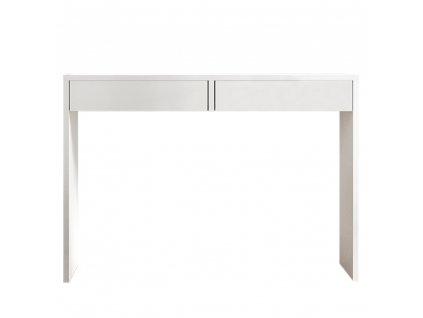 Toaletný stolík/písací stôl,  biela, VIOLET